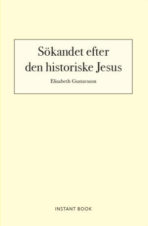 Sökandet efter den historiske Jesus